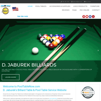 Pooltablenow.com Thumbnail. Alexa Rank: 7495011. Pool Table Chicago | New  Used ...