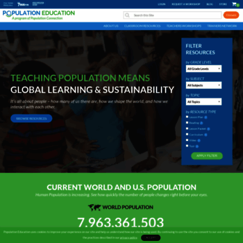 Populationeducation.org thumbnail
