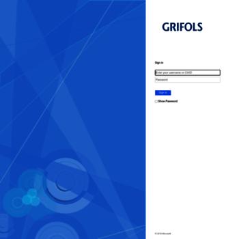portal grifols com at WI  Portal Grifols