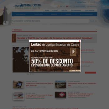 Portaldecastro.com.br thumbnail