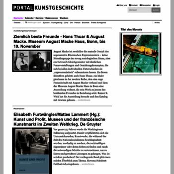 Portalkunstgeschichte.de thumbnail