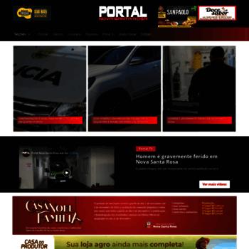 Portalnovasantarosa.com.br thumbnail