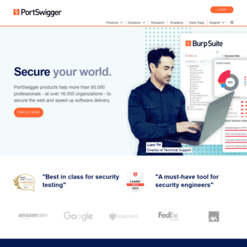 portswigger net at WI  Web Application Security, Testing
