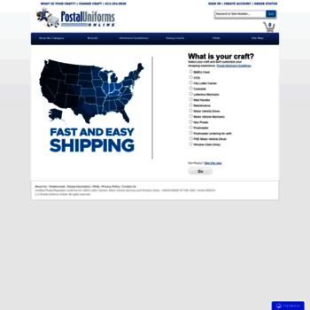 fbd17af9000 postaluniformsonline.com at WI. Postal Uniforms Online - Certified ...