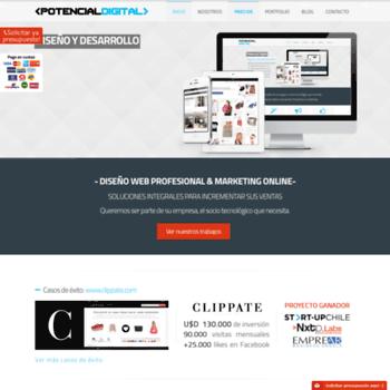 Potencialdigital.com.ar thumbnail