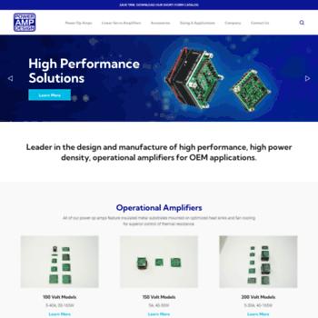 Powerampdesign.net thumbnail