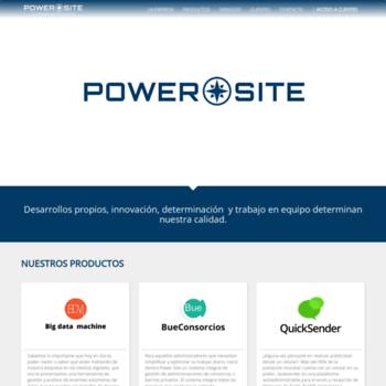Powersite.com.ar thumbnail