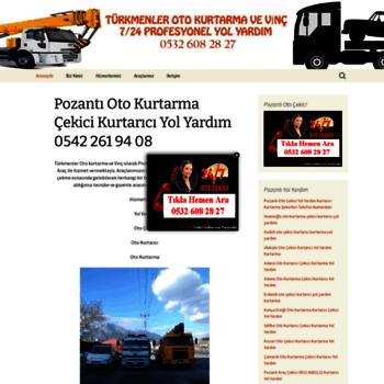 Pozantiotokurtarma Com At Wi Pozanti Oto Kurtarma 0532