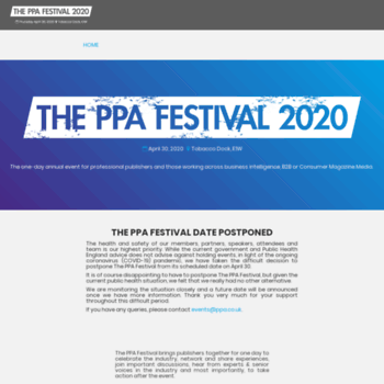 Ppafestival.co.uk thumbnail
