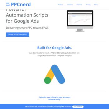 ppcnerd com at WI  Powerful Google Ads Scripts | AdWords