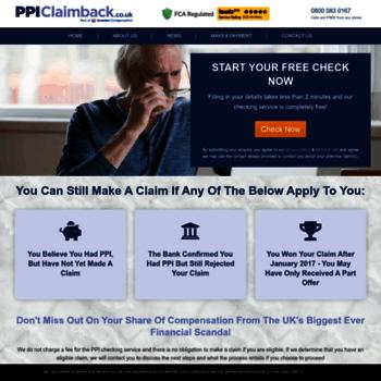 Ppiclaimback.co.uk thumbnail