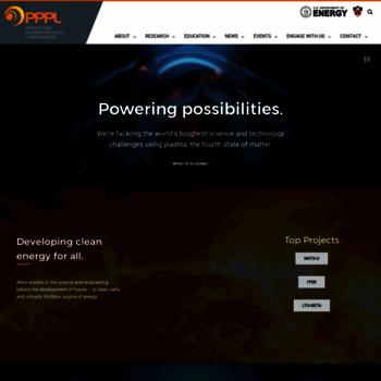 Pppl.gov thumbnail