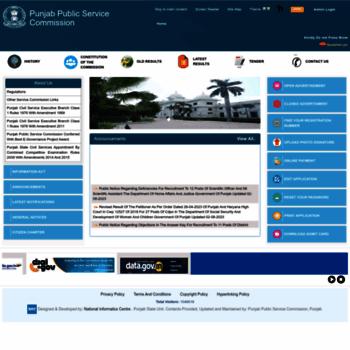 Ppsc.gov.in thumbnail
