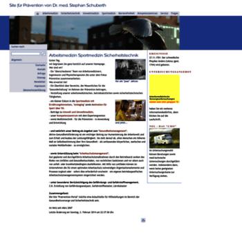 Praevention-portal.de thumbnail