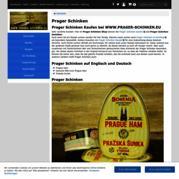 Prager-schinken.eu thumbnail