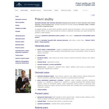 Praha-advokatka.cz thumbnail