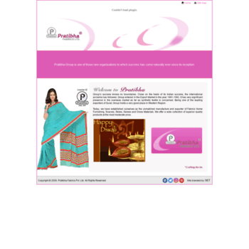 Pratibhafabrics.com thumbnail