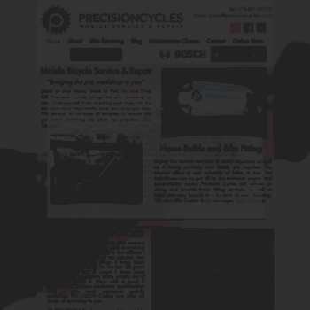 Precisioncycles.co.uk thumbnail