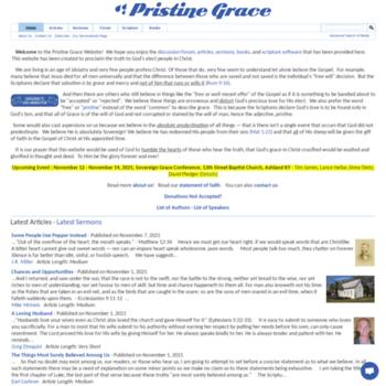 Predestinarian.net thumbnail