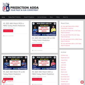 Predictionadda.com thumbnail