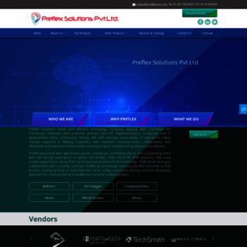 preflexsol com at WI  Preflex Solutions, Bangalore, India