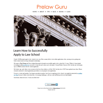 prelaw-guru com at WI  Prelaw Guru: helping pre-lawyers kick