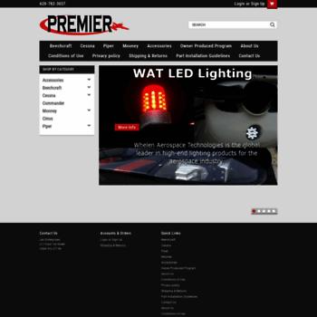 premieraerostore com at WI  PAST, Inc  : Manufacturer of air