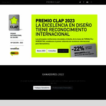 Premiosclap.org thumbnail