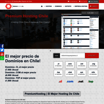 Premiumhosting.cl thumbnail