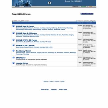 prep4usmle com at WI  Prep4usmle com: USMLE Forum