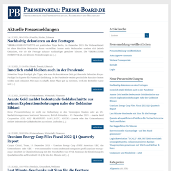 Presse-board.de thumbnail