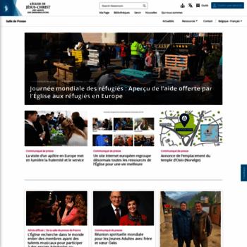 Presse-mormons.be thumbnail