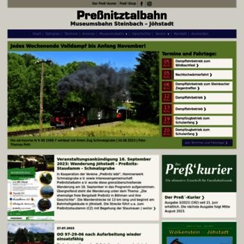 Pressnitztalbahn.de thumbnail