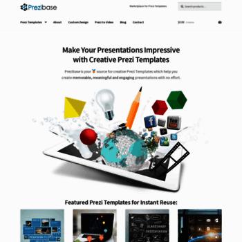 prezibase com at WI  Marketplace for Prezi Templates | Prezibase