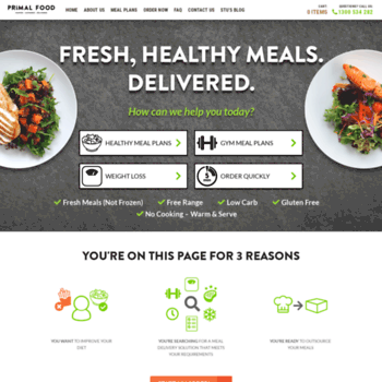 weight loss meals delivered melbourne