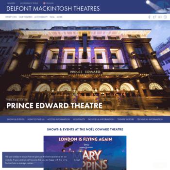 Princeedwardtheatre.co.uk thumbnail