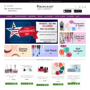 princessnailsupply com at WI  Professional Nail Supplies
