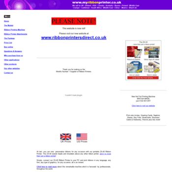 Print-a-ribbon.co.uk thumbnail