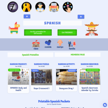 photograph regarding Printable Spanish.com titled at WI. Printable Spanish Online games