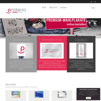 Printeria De At Wi Visitenkarten Online Gestalten Und Drucken