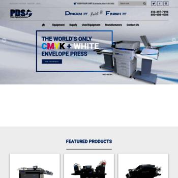 Printfinishingequipment.ca thumbnail