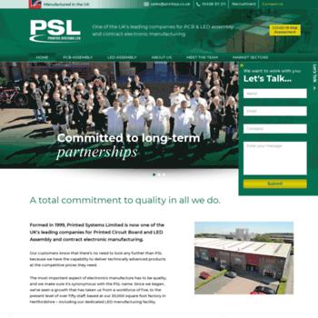 Printsys.co.uk thumbnail