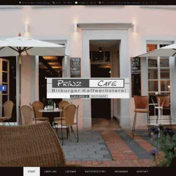 Prinz-cafe.de thumbnail