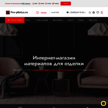 Pro-plintys.ru thumbnail