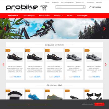 Probike.hu thumbnail