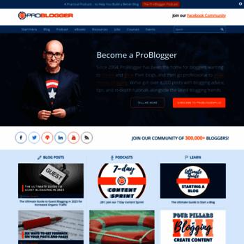 Problogger.net thumbnail