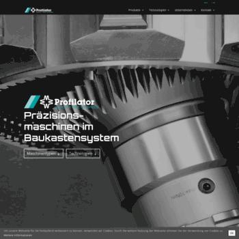 Profilator.de thumbnail