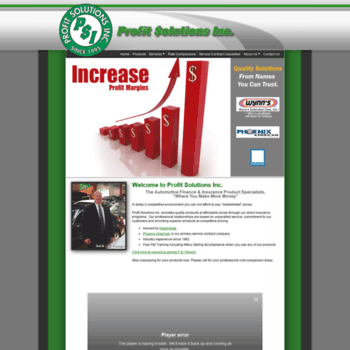 Profitsolutionsinc.net thumbnail