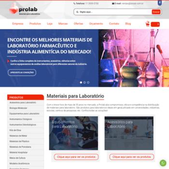 Prolab.com.br thumbnail