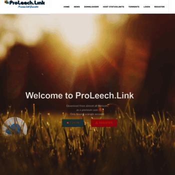 Proleech.link thumbnail